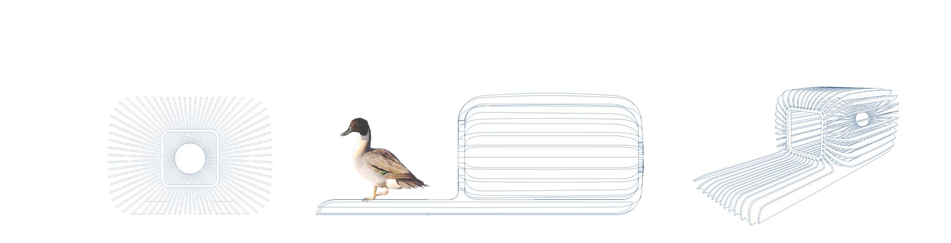 plan nichoir flottant pour canard