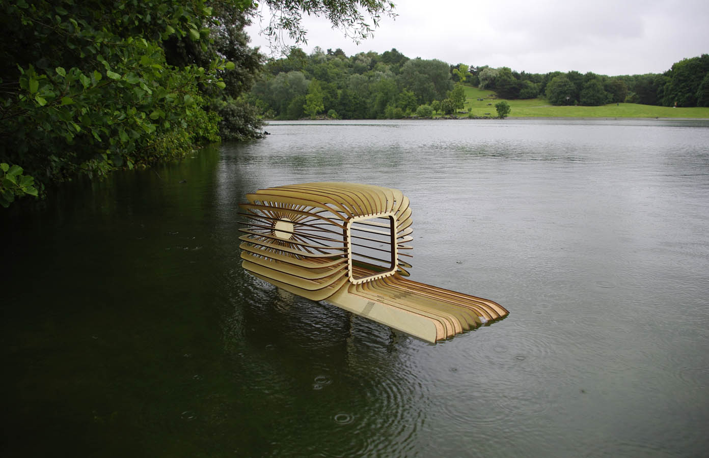 nichoir flottant Duck House-Florent Albinet